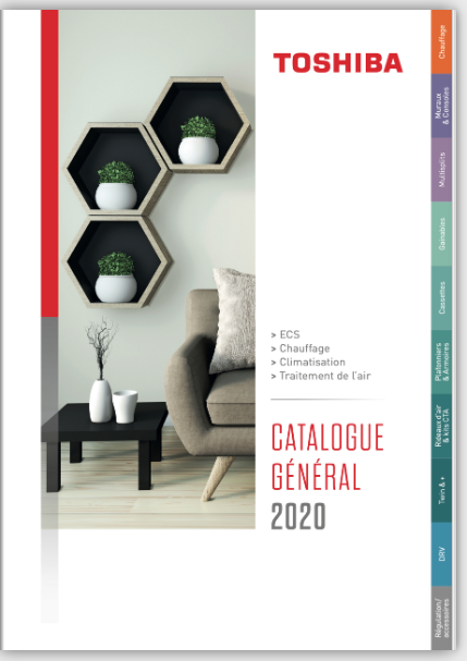 catalogue TOSHIBA clim 2020
